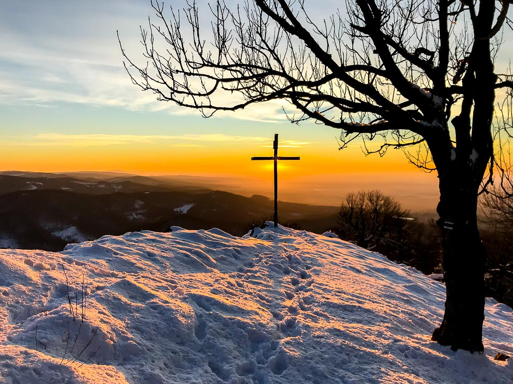 Západ slnka (Vysoká, Malé Karpaty)