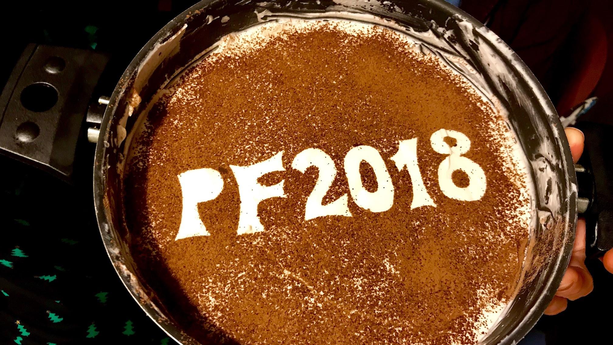 Nový rok 2018 - Tiramisu