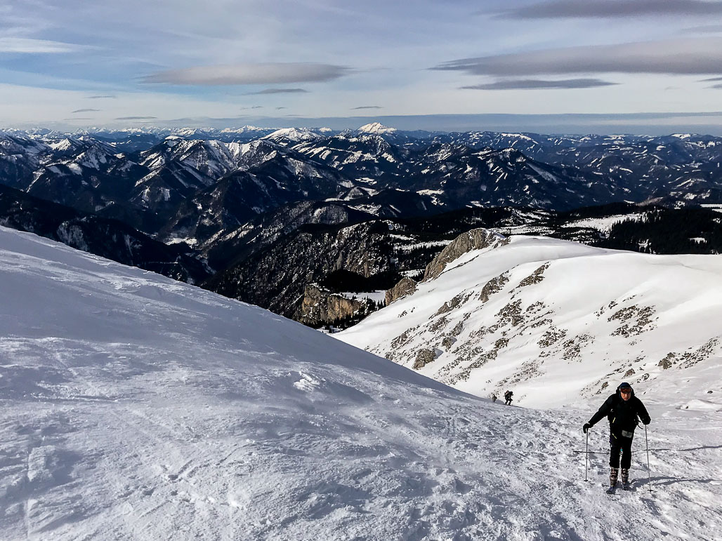 Schneeberg pod vrcholom