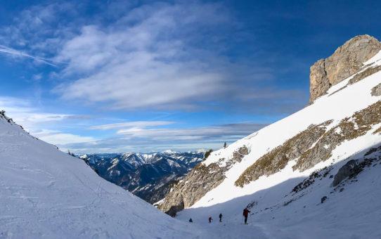Schneeberg (Kaiserstein 2.061 m) na lyžiach